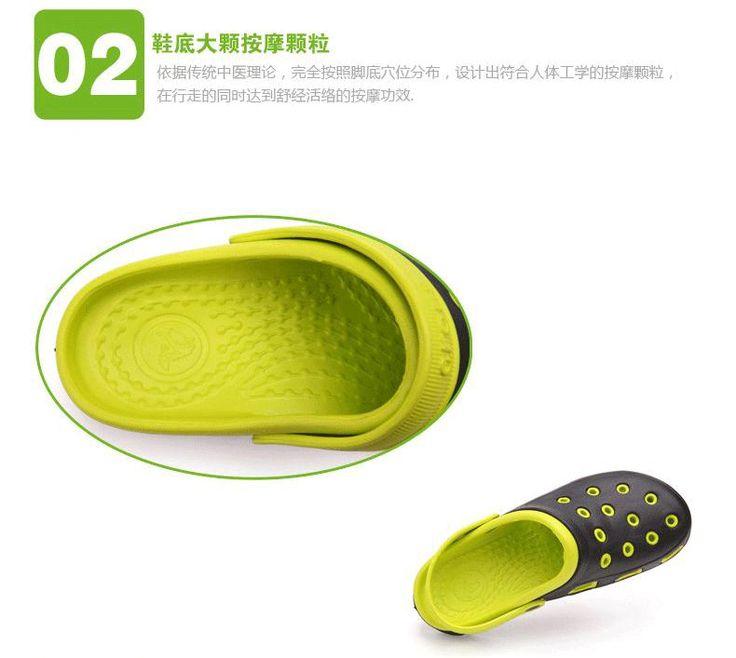 Wholesale Product Snapshot Product name is Новый 2014 лето вентиляции свободного покроя и удобные сабо мужчины пляжные сандалии тапочки ленивый Shoes1335