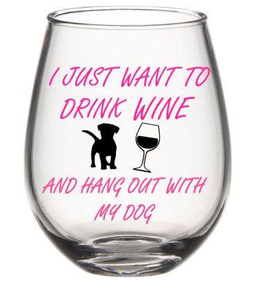 Wine Glasses - Wait! I don't have a dog.