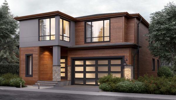 Casa Moderna De Dos Pisos Con 4 Dormitorios Planos De Casas Modernas Planos De Casa De Dos Pisos Planos De Casas
