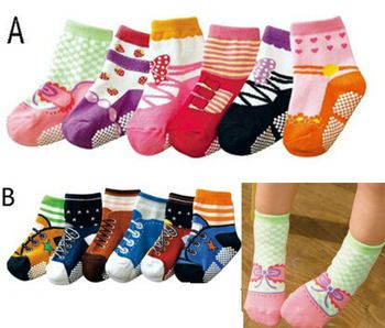 Boys Socks Baby Cotton Socks Baby Fake Shoes Pattern Kids Walking Footwear Photography Girls Socks Cotton