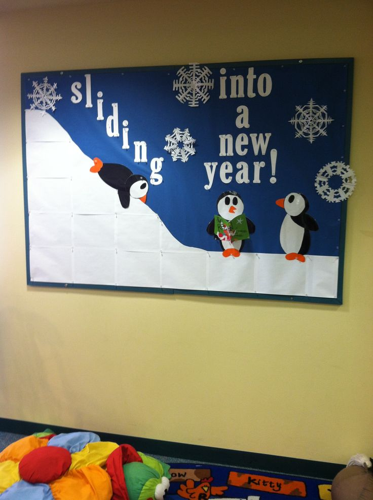 January Bulletin Board | Sliding Into a New Year!