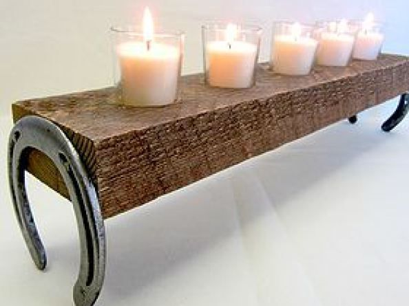 27 easiest woodworking projects for beginners. including a rustic candle holder