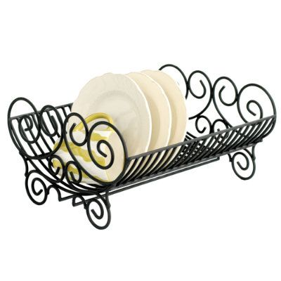 Avignon Dish Rack - I would not even mind leaving this out on my counter when my dishes are done.