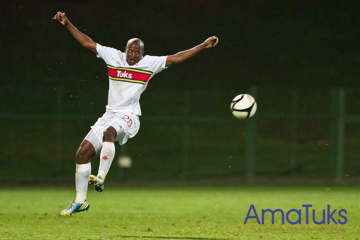 """Take to the skies"" Vincent Kobola 03 April 2013 vs Bloemfontein Celtic"