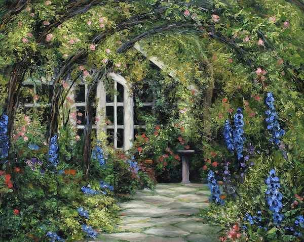 French Cottage Garden Design english gardens english garden traditional cape cod mediterranean contemporary french 2 0666_1005 French Cottage Garden 24x30 Gjpg 600