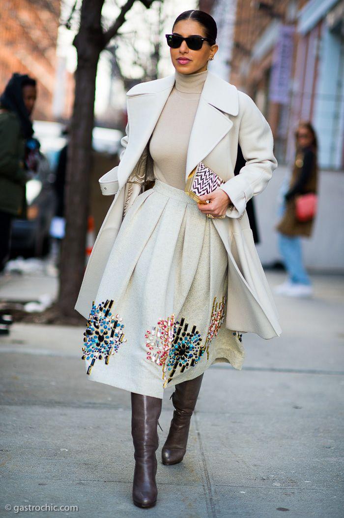 hello Princess. literally. outside Rodarte in that absolutely stunning outfit. #PrincessDeenaAlJuhaniAbdulaziz #NYFW