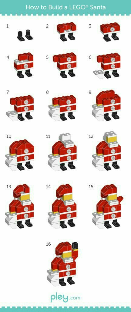 Awesome way to learn to build santa