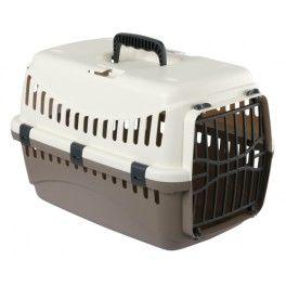 <p>Cette cage de transportdisponibleen vert, rouge, marron ou beige,pour chat et petit chien est un très bon rapport qualité prix.</p><p></p>
