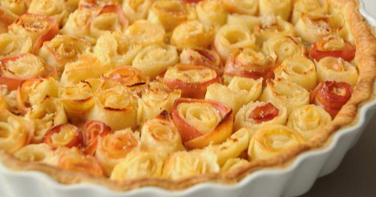 Recette - Tarte bouquet de roses ®, d'après Alain Passard | 750g
