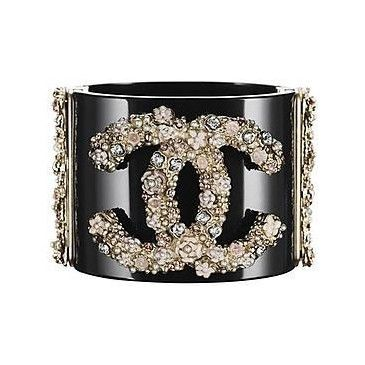 bling on Chanel #Chanel: Bling, Cuffs Bracelets, Chanel Cuffs, Coco Chanel, Fashion, Chanel Bracelets, Style, Jewelry Collection, Accessories
