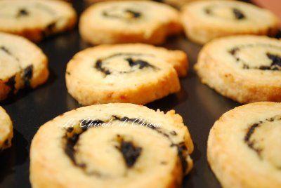 Le chicche di chicca: Biscotti Parmigiano Limone e Olive Nere