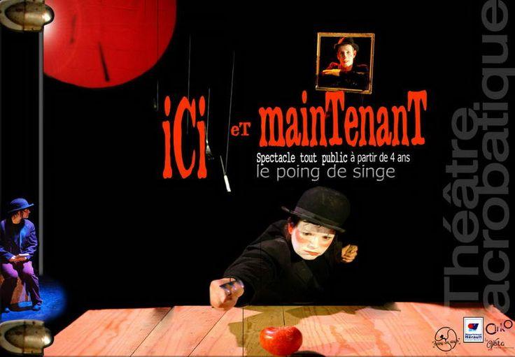 Retour sur ICI ET MAINTENANT par la Cie Le Poing de Singe au Théâtre d'O