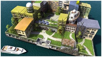 The Seasteading Institute: Cities Design, Cities Architecture, Future Architecture, Seastead Institut, Projeto Eufuturo, Future Cities, Institut Design, Andra Gyorfi, Gyorfi Swim