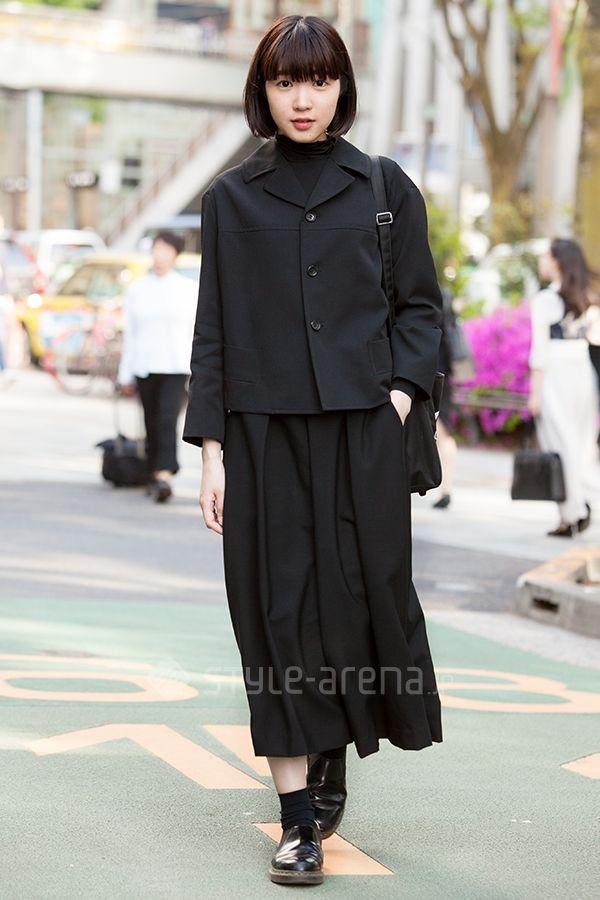 Emi | COMME des GARÇONS COMME des GARÇONS ISSEY MIYAKE LAD MUSICIAN  Dr.Martens×COMME des GARÇONS COMME des GARÇONS GOOD DESIGN SHOP COMME des GARÇONS | 2nd week  May. 2016 | Omotesando | Tokyo Street Style | TOKYO STREET FASHION NEWS | style-arena.jp