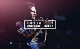 Barclays Premier League Match 2 : Sunderland 1-1 MU (Rodwell 30'/Mata 17') 24 August 2014 - Stadium of Light