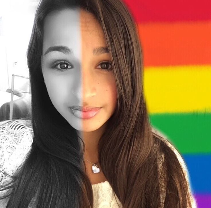 I hate when people say trans people are gross I mean just look at Jazz Jennings