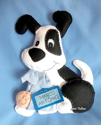 1001 Feltros: Novos cachorrinhos-cegonhas.