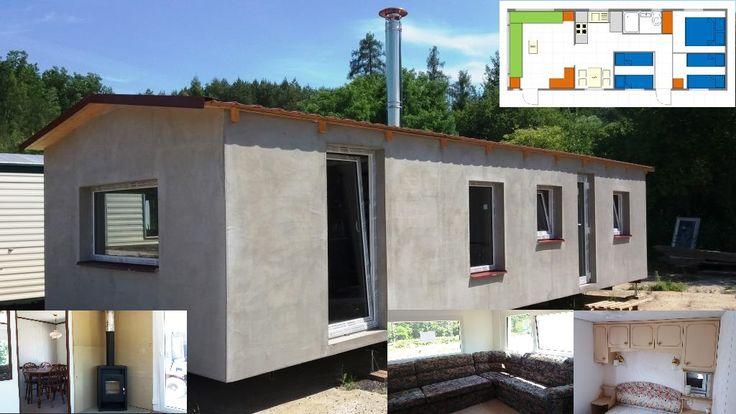 Celoročně zateplený mobilní dům - mobilheim Pemberton Moonbeam 10,5 x 4m se sedlovou střechou, třema ložnicemi, s novými krbovými kamny a plastovými okny. více na http://www.mobilnidum.eu/pemberton-moonbeam. Více informací o tom jak zateplujeme mobilní domy naleznete na http://www.mobilnidum.eu/mobilni-domy-celorocni