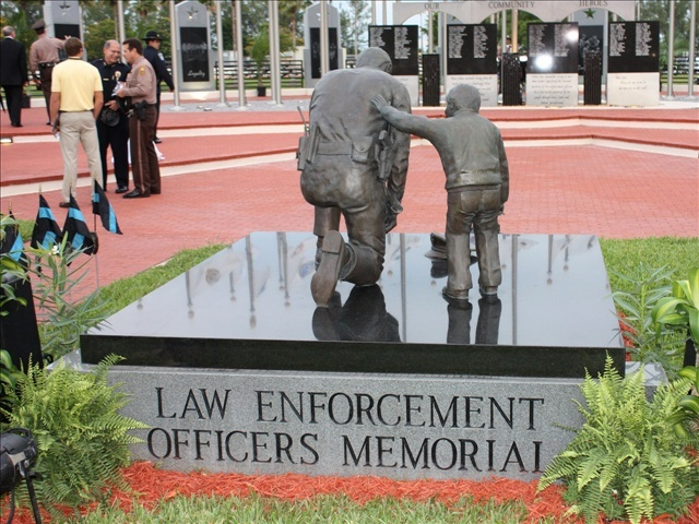 peace officers memorial day flags half staff