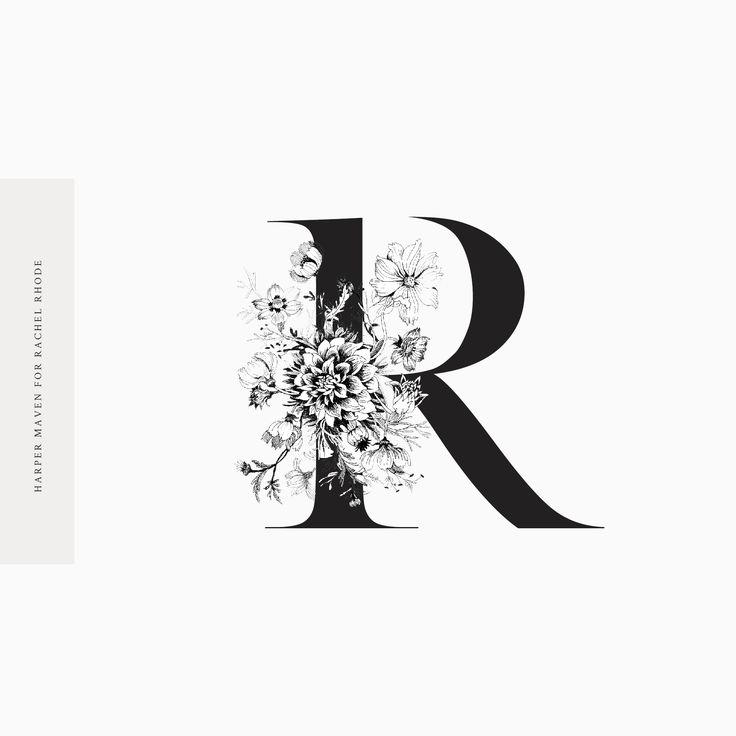 Rachel Rhode Monogram by Harper Maven Design www.harpermavendesign.com