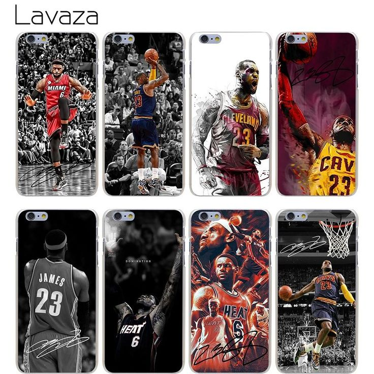 Lavaza High Quality Phone Cases Lebron James Hard Transparent Cover Case for iPhone X 10 8 7 6 6S Plus 5 5S SE 5C 4 4S Hot Sale  #MLB #Cubs #Raiders #Dubnation