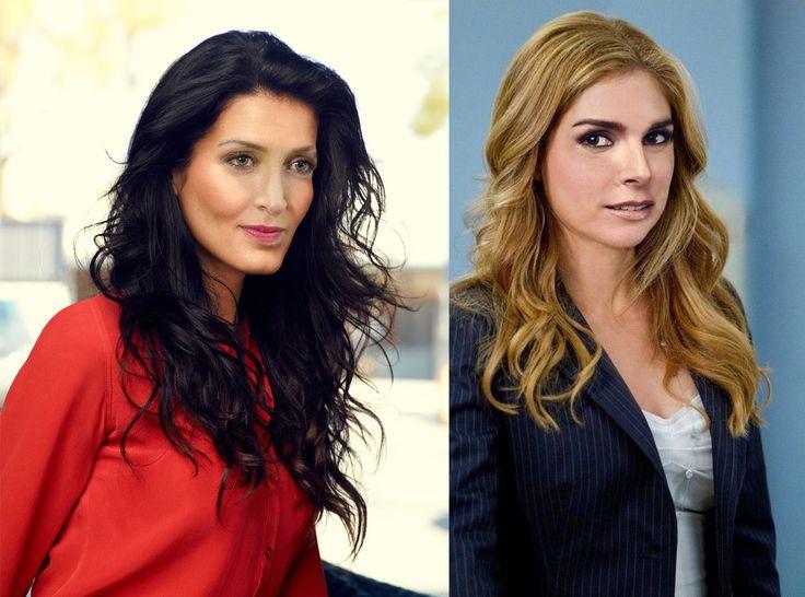 Gesichtertausch Maura Isles/ Sasha Alexander & Jane Rizzoli/ Angie Harmon