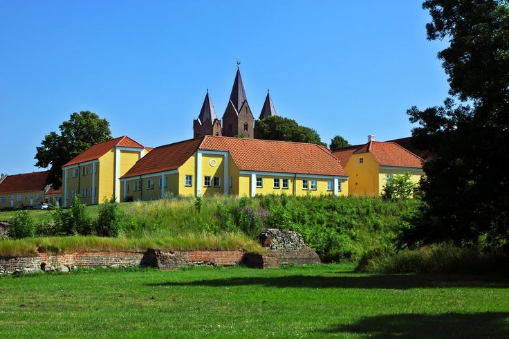 Runiparken in Kalundborg (Old Ruins from 1170)