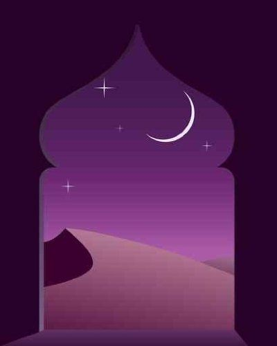 "Magic Arabian Night - 30""H x 24""W - Peel and Stick Wall Decal by Wallmonkeys Wallmonkeys Wall Decals,http://www.amazon.com/dp/B008GPUYUC/ref=cm_sw_r_pi_dp_xIP7sb0VP4G9KSTD"