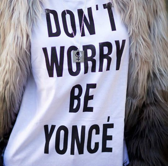 Don't Worry Be Yonce Women's T-shirt Beyonce Shirt