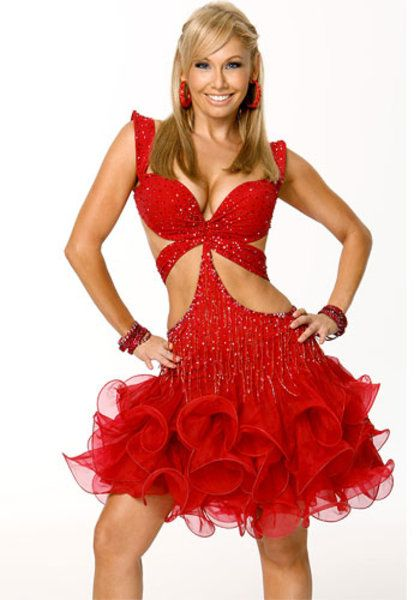 Kym Johnson in Dancing with the Stars 7