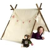 Home Sweet Tent, a simple childs tent personalized with a banner, from Twelve Timbers