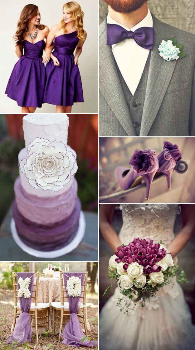 Violet Tulip-Pantone's Spring Color. Lucky in Love Wedding Planning Blog - Seattle Weddings at Banquetevent.com