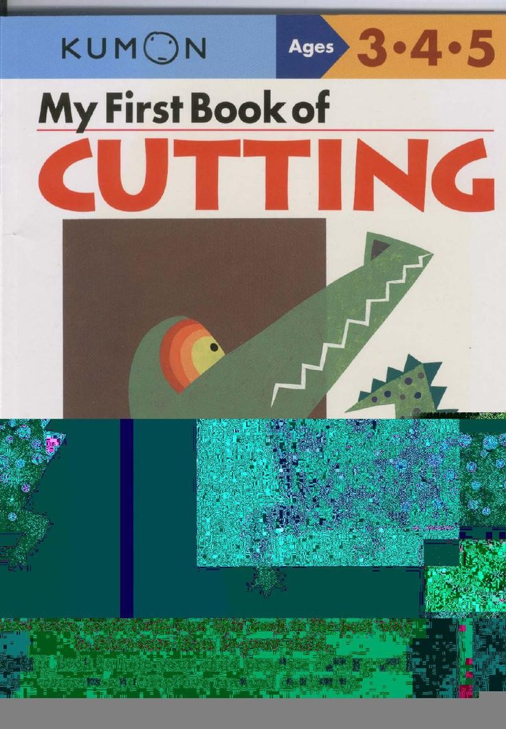 #ClippedOnIssuu from 3 4 5 My first book of cutting