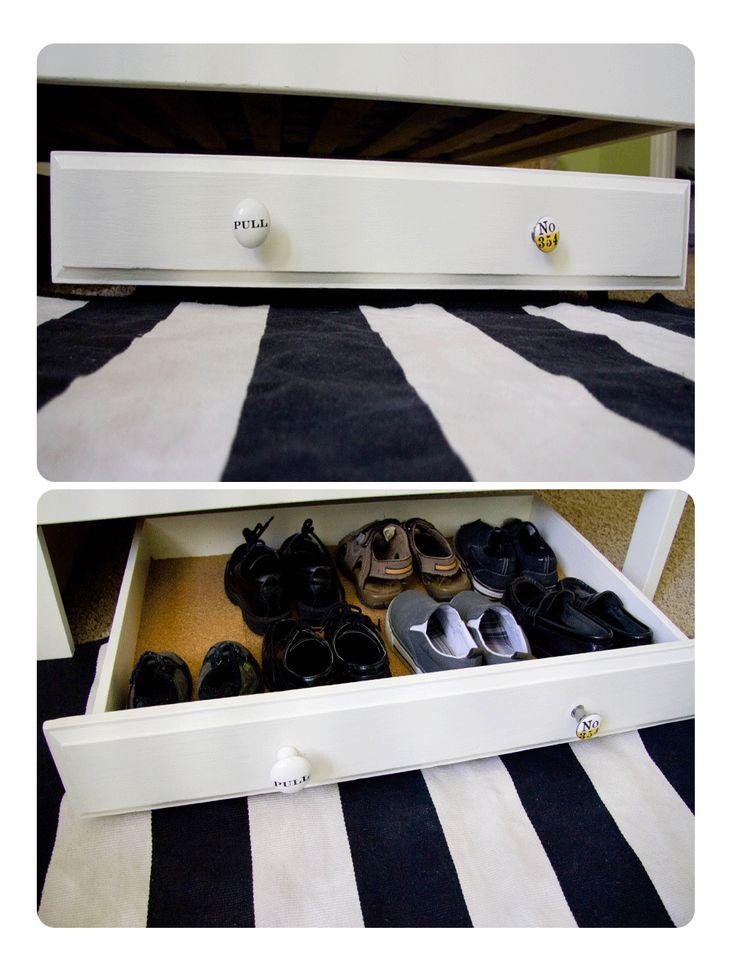71 best under bed storage ideas images on pinterest organization ideas organizing ideas and. Black Bedroom Furniture Sets. Home Design Ideas