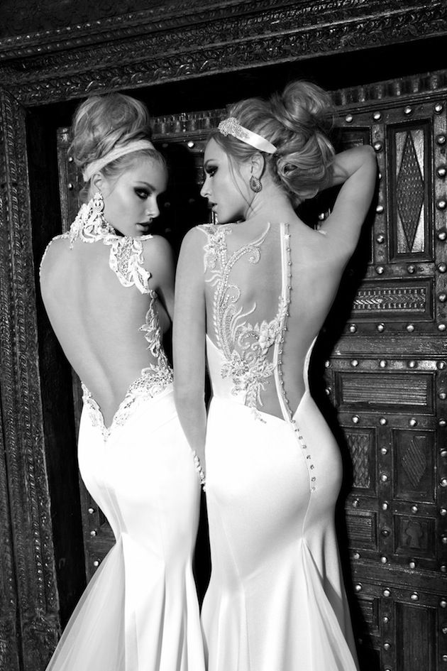 illusion back wedding dresses