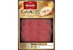 Carpaccio au bloc de Foie Gras et Sauternes : Gamme saisonnière | Bigard