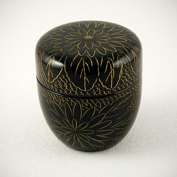 Ziji - Lacquered Natsume, $48.00 (http://www.ziji.com/products/japanese-tea-ceremony/japanese-matcha/lacquered-natsume/)
