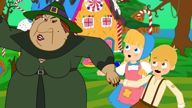 Hansel y Gretel en Español - Dibujos Animados - Mejores Cuentos infantiles