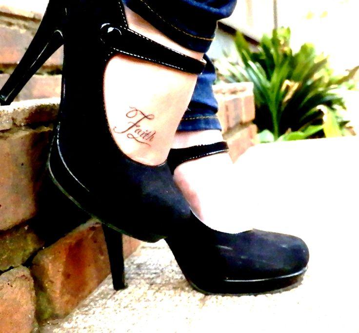 Love my faith tattoo