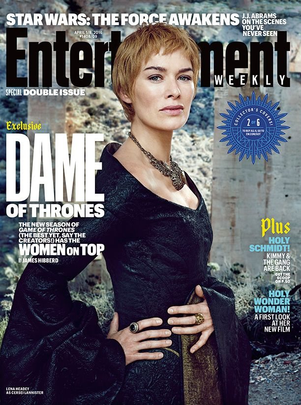 All hail the Queens of the Throne Age! Here's your exclusive look inside #GameofThrones season 6: #EWxGOT   Photo credit: Marc Hom for EW.