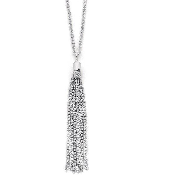 Sterling Silver Tassel Pendant