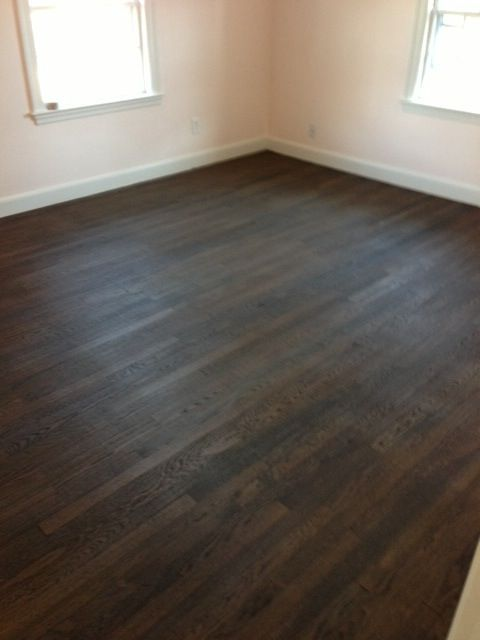 staining hardwood floors cost darker before and after wood flooring refinish this old house