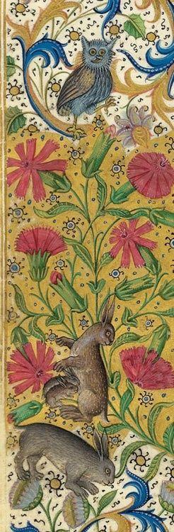 Le Livre de la chasse, Paris ca. 1407. NY, Morgan, MS M. 1044, fol. fol 1v.-