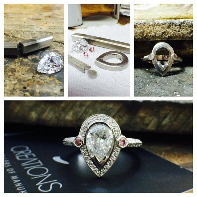 """49 Likes, 1 Comments - Creations Jewellers (@creationsjewellerscanberra) on Instagram: """"Congratulations James and Amy, was a pleasure making this cracker of a ring for you. #platinum…"""""""