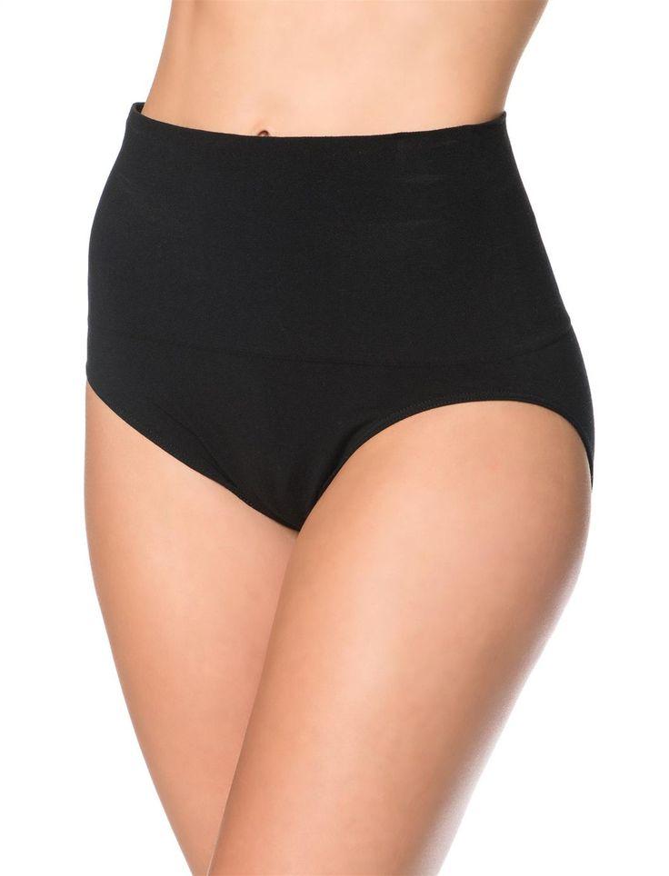 Super necesarios para cuando te vas de la clinica recien parida, estos panties te ajustan de manera segura tu abdomen flacido, y si tuviste cesarea seran iguales de seguros. Steph    Post Pregnancy Panty (2 Pack), Black/Nude