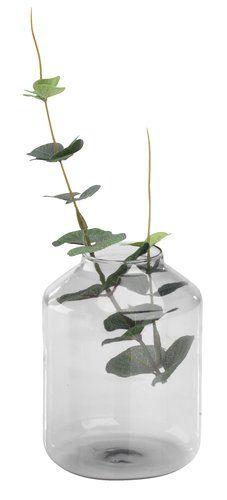 Váza VISTI Ø8xV12cm sivá | JYSK