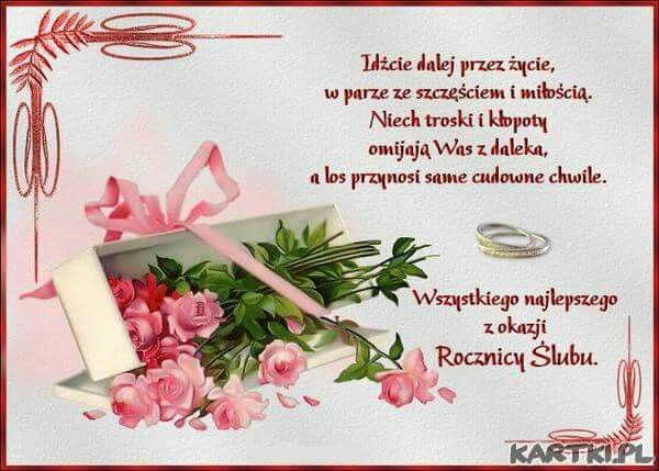 Pin By Beata Mannai On Rocznica Slubu Place Card Holders Polish Language Anniversary