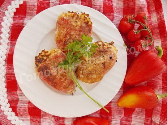 чушка бюрек - болгарский перец с брынзой