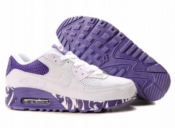 https://www.kengriffeyshoes.com/nike-air-max-90-white-purple-p-795.html NIKE AIR MAX 90 WHITE PURPLE Only $71.40 , Free Shipping!