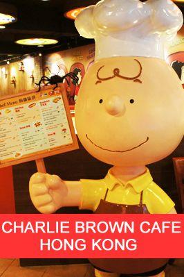Charlie Brown Cafe Hong Kong Review.